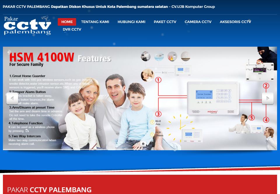 Portofolio Website CCTV Palembang